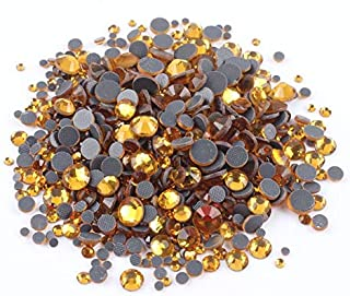 Rhinestones - 1200pcs Mix size Hotfix Rhinestones Shiny Crystal AB Flatback stone SS6-SS30 for Clothes DIY Decoration free...
