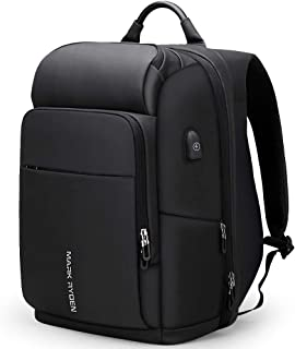 MARK RYDEN Business Laptop Backpack with USB Charging Port Anti-Theft Travel Bag Computer Backpack Bag Water Resistant 15....