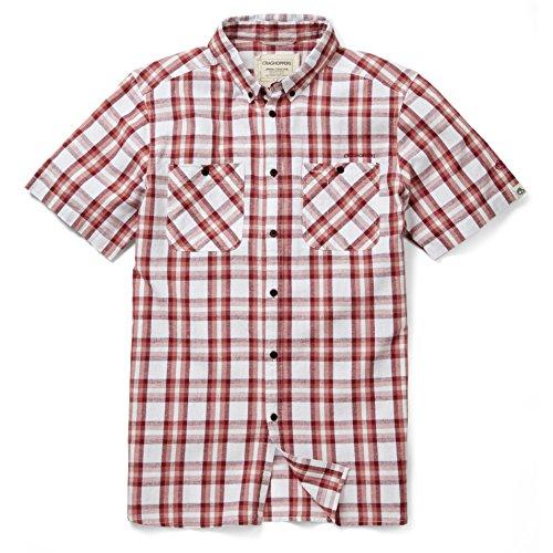 Craghoppers Mens Edmond Short Sleeve Button Up Summer Shirt