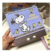 卓上カレンダー 2021デスクカレンダー漫画メモ帳デスクトップデコレーションデスク日記立っている企画組織のための月刊カレンダー カレンダー2021 (Color : F)