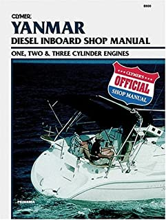 Clymer Yanmar: Diesel Inboard Shop Manual : One, Two & Three Cylinder Engines by Clymer Publications (2001-02-01)