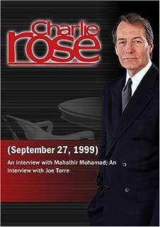 Charlie Rose September 27, 1999