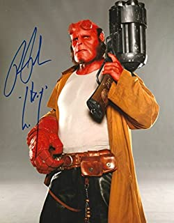ACTOR Ron Perlman HELLBOY autograph, In-Person signed photo
