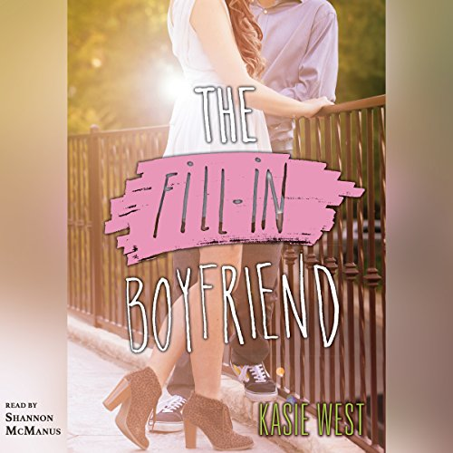 The Fill-in Boyfriend audiobook cover art