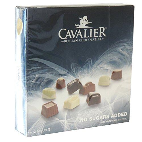 Cavalier Pralinen mit Maltit & Laktit 125g (Blaues Sortiment)