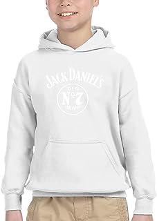 JACK DANIEL'S ウイスキー パーカー プルオーバー キッズ 子供服 裏毛 トップス 個性 プリント オシャレ 上着 男の子 女の子