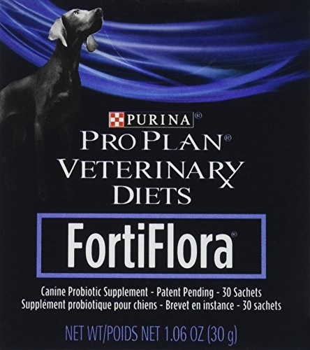 Purina Veterinary Diets FortiFlora Canine Nutritional Supplement, 60 Sachets