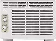 Energy Efficiency Ratio (EER): 11.0 5,000 BTU mini-compact air conditioner for window-mounted installation uses standard 115V electrical outlet Quickly cools a room upto 150 square feet with dehumidification upto 1.1 pints per hour Quiet operation on...