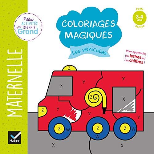 Coloriages magiques - Les véhicules PS