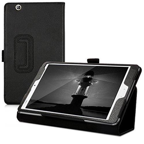 kwmobile Hülle kompatibel mit Huawei MediaPad M3 8.4 - Slim Tablet Cover Hülle Schutzhülle mit Ständer Schwarz