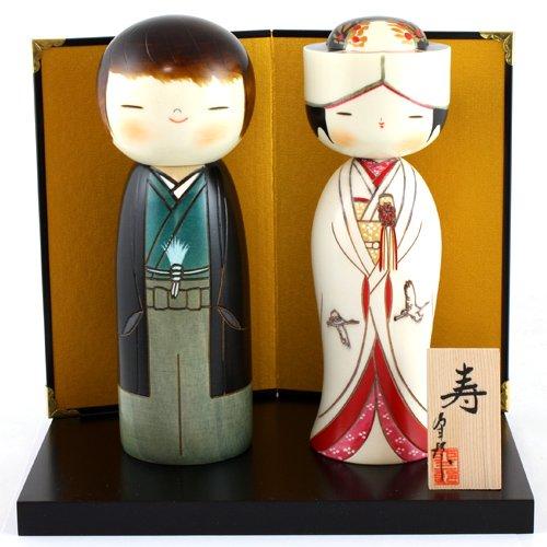 Kokeshi UK-9-80 Towani - Figura japonesa