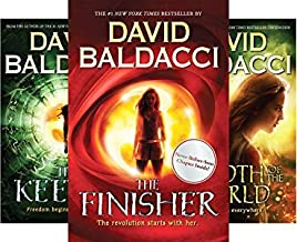 Baldacci's 3-book series VEGA JANE Teen Trilogy -- Finisher / Width of the World / Keeper