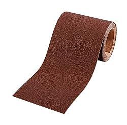 kwb Schleifpapier-Rolle – für Metall und Holz, K-180, 93 mm x 5 m, Korund