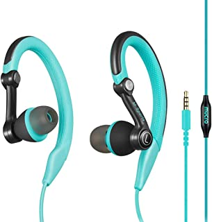 mucro Running Headphones Over Ear in Ear Sport Earbuds Earhook Wired Stereo Workout Ear Buds for Jogging Gym for iPhone iP...