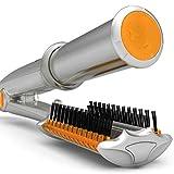 Bigoudis céramique thermostat Sec et humide brosse à cheveux fer en rotation...