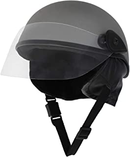 Sage Square Adjustable Kids Helmet for Baby Safety and Comfort (3-12 Years) (Silver Matte)