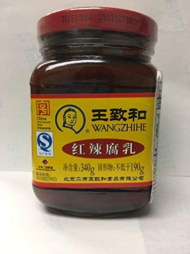 中華老子号王致和 紅辣腐乳 340g