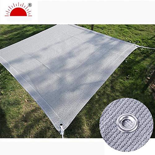 YQ QY Toldo De Vela Impermeable Sun Garden Shade En Terracota 98% UV Rectángulo De Bloque con Ojales Sun-Block Mesh Shade Pergola Cover Canopy (Size : 1X3m)