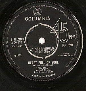 "Heart Full Of Soul - Yardbirds 7"" 45"