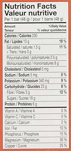 Larabar Gluten Free Cashew Fruit and Nut Energy Bar, 16-Count, 768 Gram