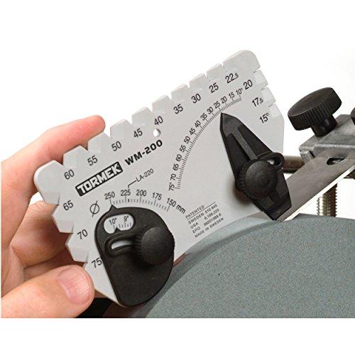 Tormek - Positionneur d'angle pour affûteuse à eau T8, T4 - Tormek - WM-200