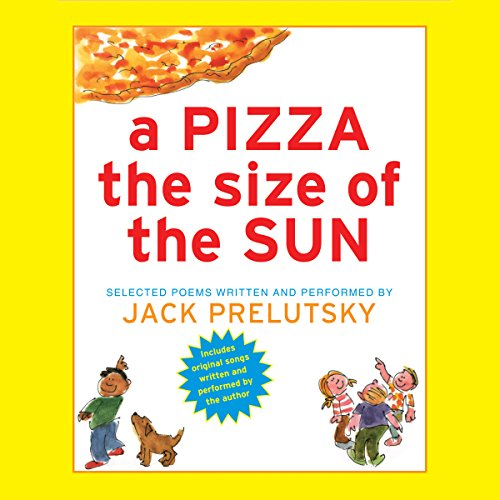 A Pizza the Size of the Sun audiobook cover art