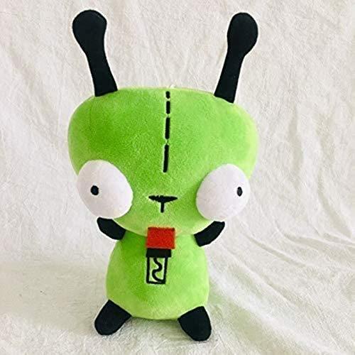 siyat Gefüllte Spielzeug für Mädchen 25cm 3D bohfing Augen grün Alien Invader Hund gefülltes Plüschtier Jikasifa