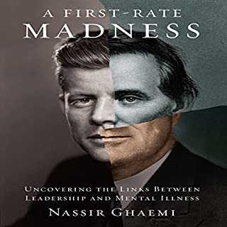 A First-Rate Madness audiobook cover art