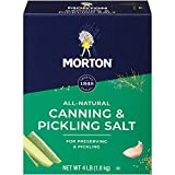 Morton Canning & Pickling Salt, 4 Pound Box (Pack of 9)