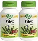 Nature's Way Vitex (Chaste Tree) Caps, 2 pk