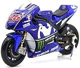 Modellini Auto 2018 Yamaha Moto GP YZR M1 25 Special Edition Modello Moto Kit 1:18 Scala per la Decorazione dell'ufficio