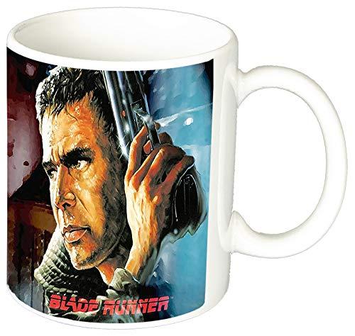 MasTazas Blade Runner Deckard Harrison Ford B Taza Ceramica