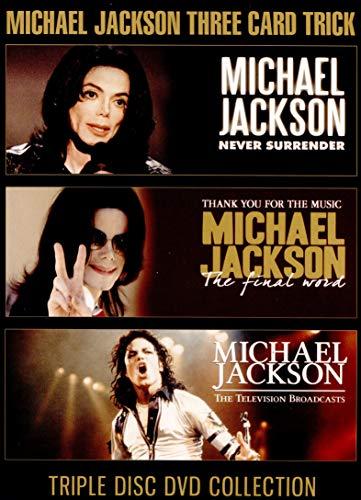 Michael Jackson - Three Card Trick (3dvd) [Reino Unido]