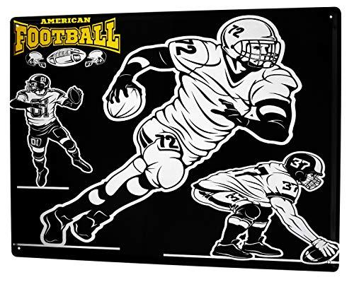 LEotiE SINCE 2004 Blechschild Fun American Football