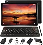 GOODTEL Tablet 10 Pollici Android 10.0 Pro Tablets Android con Processore 8-Core 1.6GHz 4GB RAM+64GB ROM / Doppia Fotocamera / WiFi / Bluetooth / GPS / MicroSD 4-128GB, con Tastiera Bluetooth