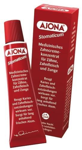 Dr. Rudolf Liebe Nachfolger Ajona Stomaticum medizinisches Zahncremekonzentrat, 12er Pack (12 x 25 ml)