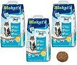 Biokat Classic Fresh 3 en 1 Arena aromática de algodón para gatos, 30 L