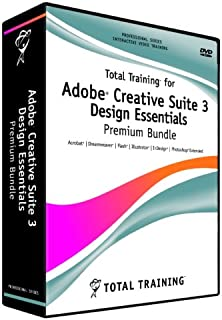 Total Training for Adobe Creative Suite 3: Design Essentials Premium Bundle