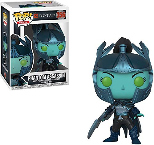 Funko 30628 Phantom Assassin with Sword POP Vinyl Dota 2 S1, Multi