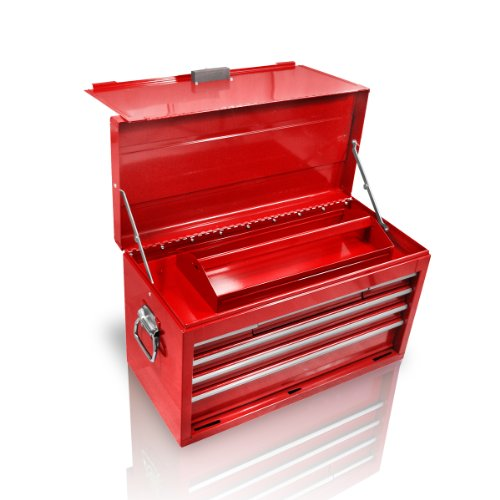 Holzinger Metall Werkzeugkoffer HWZK600-6 - kugelgelagert (6 Schubladen + 1 Fach)
