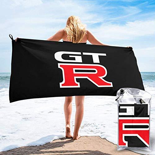 wupinpai GTR - Toalla de baño de microfibra de secado rápido para piscina, playa, viajes