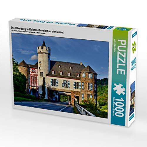 CALVENDO Puzzle Die Oberburg in Kobern-Gondorf an der Mosel. 1000 Teile Lege-Größe 64 x 48 cm Foto-Puzzle Bild von Jutta Heußlein