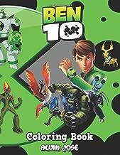 Ben 10 Coloring Book: Coloring Book for Kids