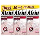 Afrin Nasal Spray Original - 1 oz, Pack of 3