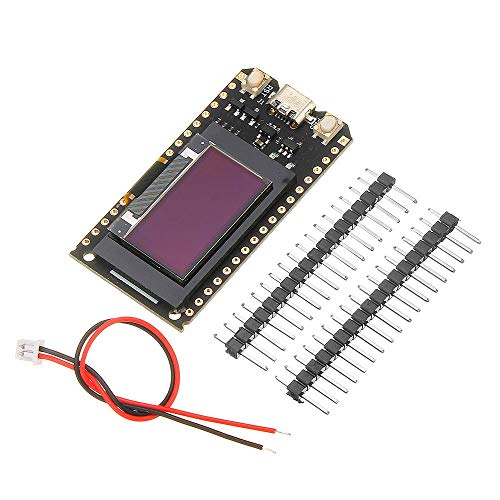 OperationCwrl 0.96 Inch ESP32 V2.0 OLED WiFi Module + Bluetooth Double ESP-32 et OLED 4 MB for Arduino