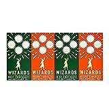 The Wizards Magic Chocolate 1% Azúcar Variedad Pack Naranja & Menta 4 x 55g