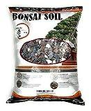 Bonsai Soil All Purpose Mix | Fast Draining Pre Blend Plant | Pumice, Lava, Calcined Clay and Pine Bark ● Potting Pre Mixed Bonsai Plant Soil Mixture (20 Quart)