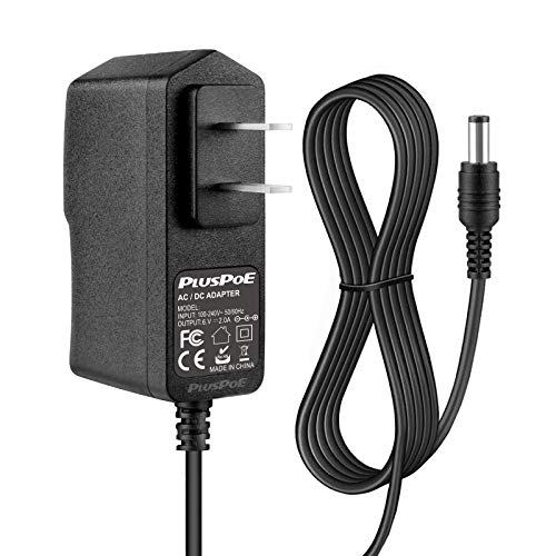 PLUSPOE 6V Power Cord for ProForm Elliptical 6.6 Ft Long AC Power Adapter Supply Charger Smart Strider 480 490 500 600 LE, 390 395 475 510 E, 510 EX, 400 700 Cardio Cross Trainer Exercise Bike