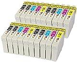 T0711 T0712 T0713 T0714 (T0715) TONER EXPERTE 20 XL Cartouches d'encre compatibles...