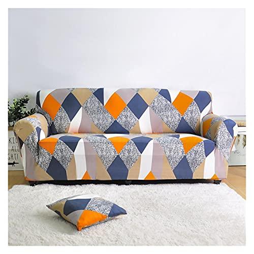 SYOUCC Cubre Sofa Cubierta de sofá de la Sala de Estar Cubierta DE Sofa DE ESQUÍ Cubiertas Fuerza DE Sofa Inferior 1/2/3/4 Asiento (Color : 22, Size : 3-Seater 190-230cm)